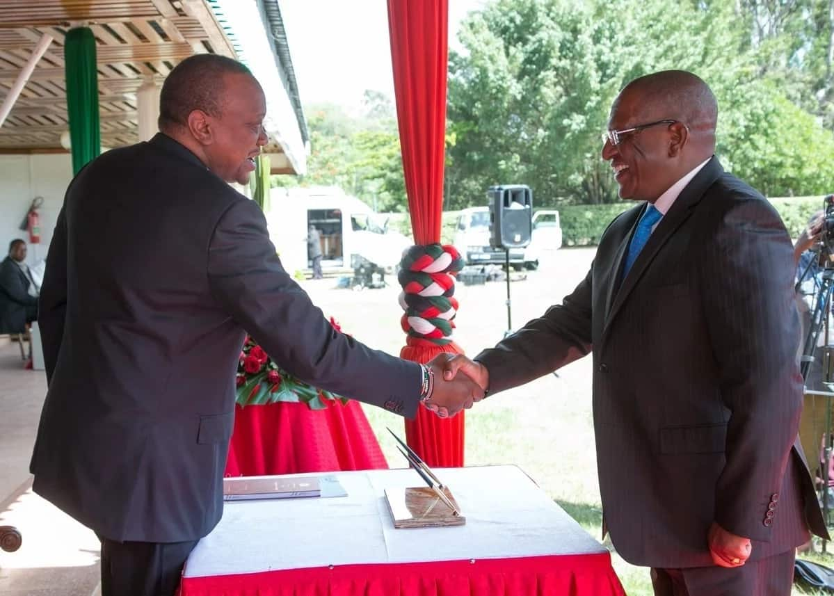 You can quit if you feel the work is too much - Uhuru tells newly sworn in Cabinet Secretaries