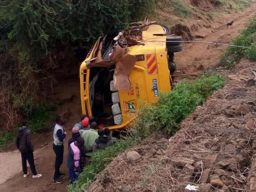 33 pupils at Kitui school that lost 12 in horror crash score above 350 marks