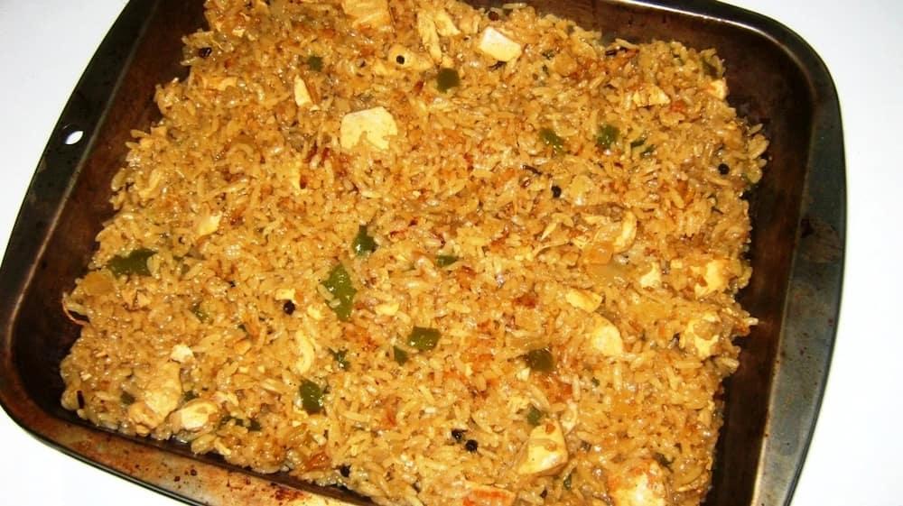 How to cook pilau procedure