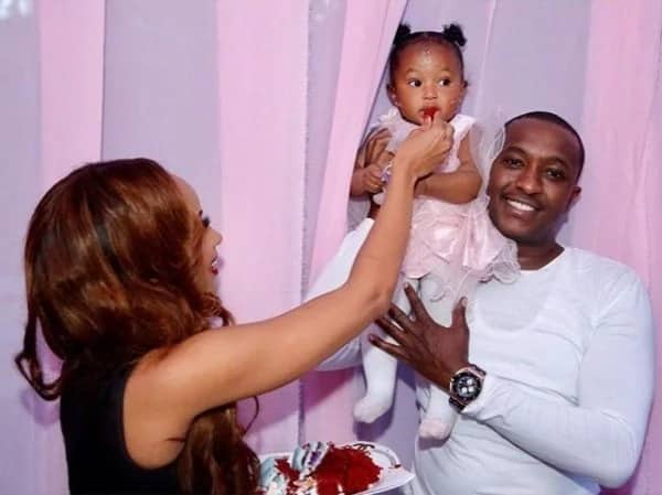 Self-proclaimed billionaire Steve Mbogo splashes serious amount of money his on daughter's first birthday