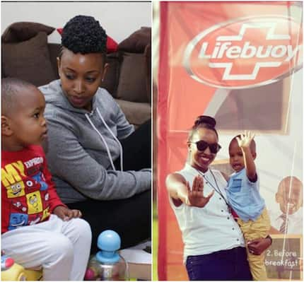 6 adorable photos of Janet Mbugua's son who has grown as we watch