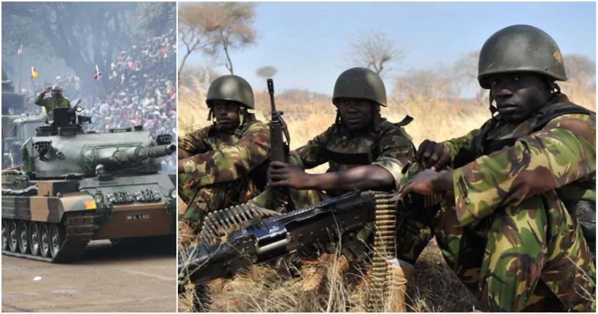 Kenya Defense Forces (KDF) records another dismal performance in global ranking