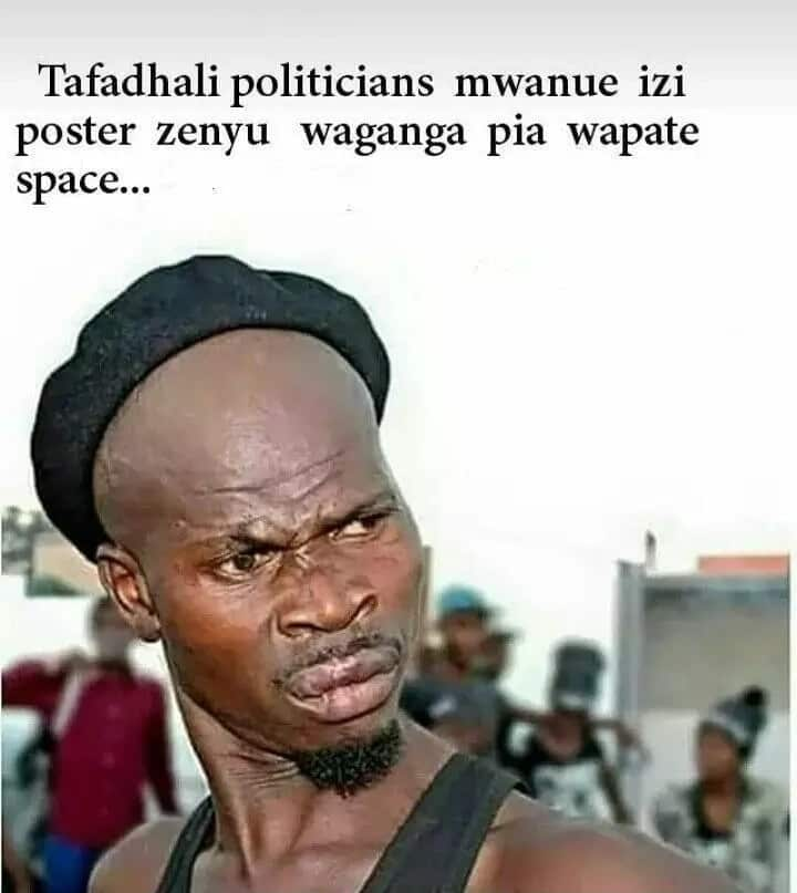 Funny Swahili memes about life