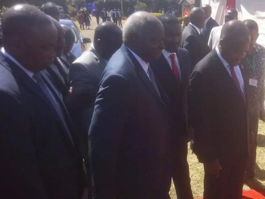 Mwai Kibaki's INCOHERENT speech at Gachagua's funeral leaves Kenyans confused