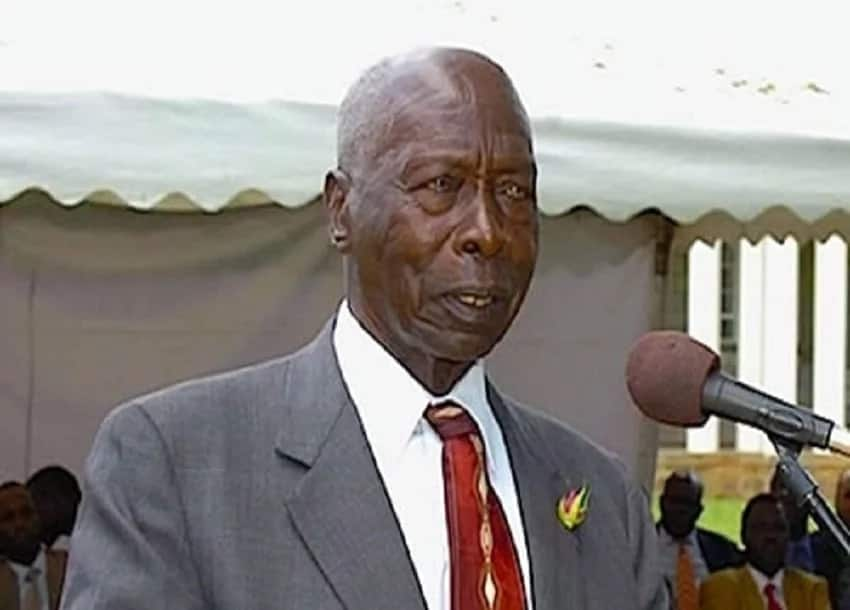 Retired President Daniel Arap Moi was flown to Israel for medical check-up.