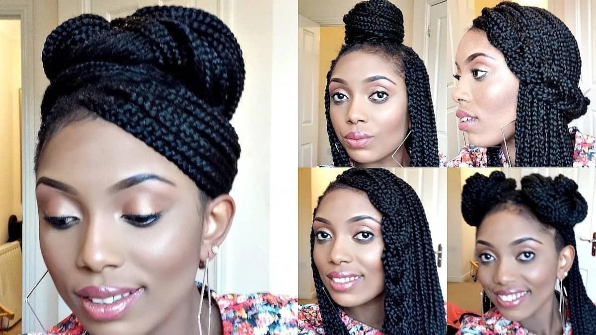 Best box braids hairstyles 2018