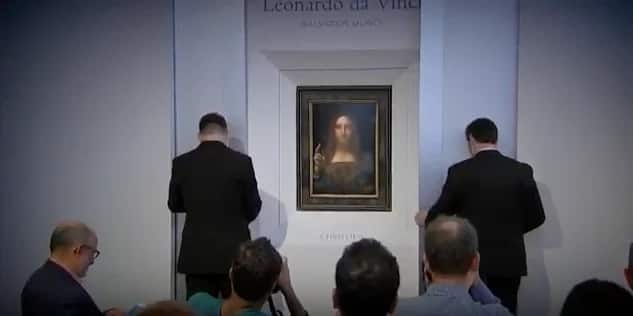 The portrait went through public exhibitions in several cities. Photo: AfricaNews