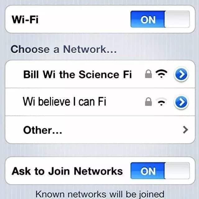 Funny dorm wifi names Hilarious wifi network names Top funny wifi names