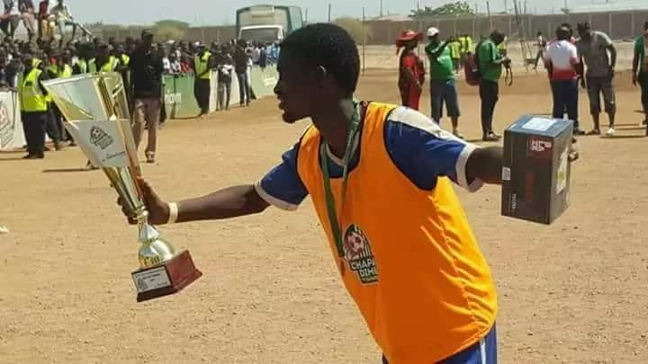 Future Kenyan football star books trial with Hull city