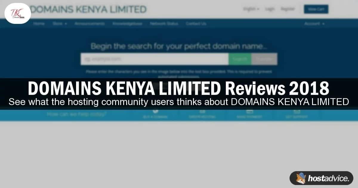 Domains Kenya LTD Review 2018