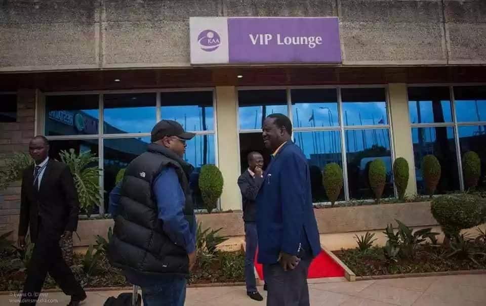 Raila flies to Germany for one-week tour as Uhuru heads to US