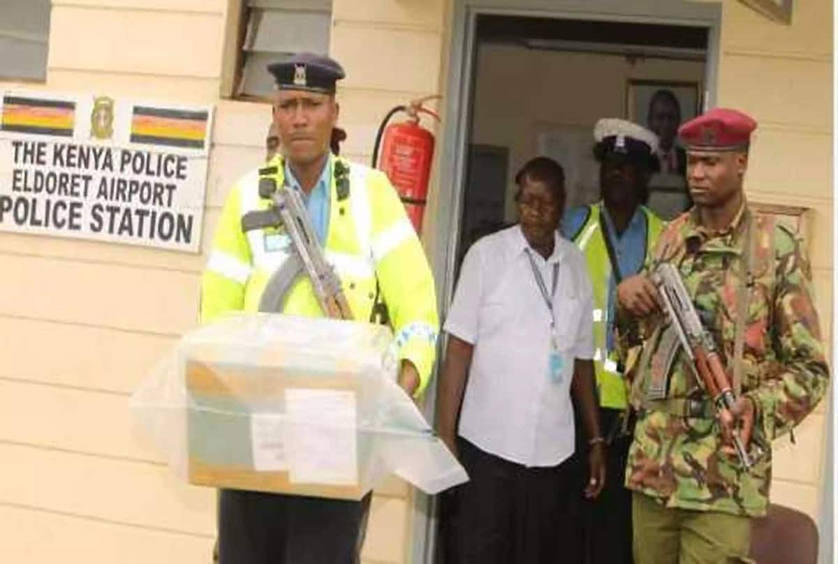 3 top KRA officers arrested with KSh 200M Mandrax at Eldoret airport