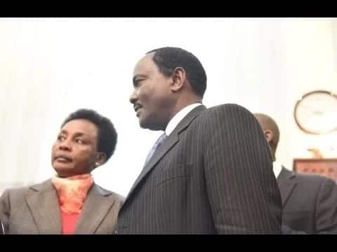 Kalonzo seen for the first time appearing as a lawyer in court