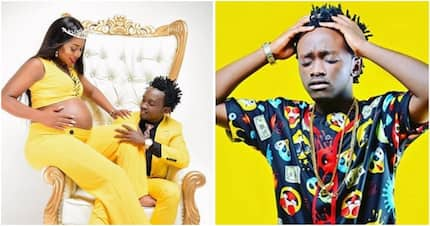Conspiracy theories suggest singer Bahati's baby is not his and this photo is sufficient proof