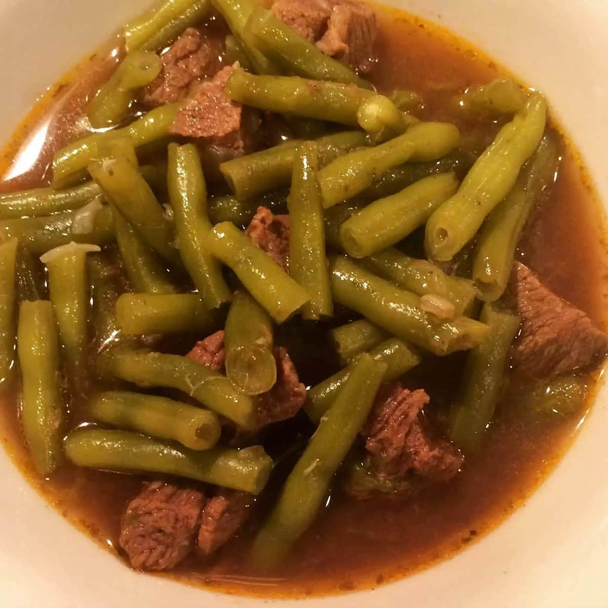 How to cook French beans stew?