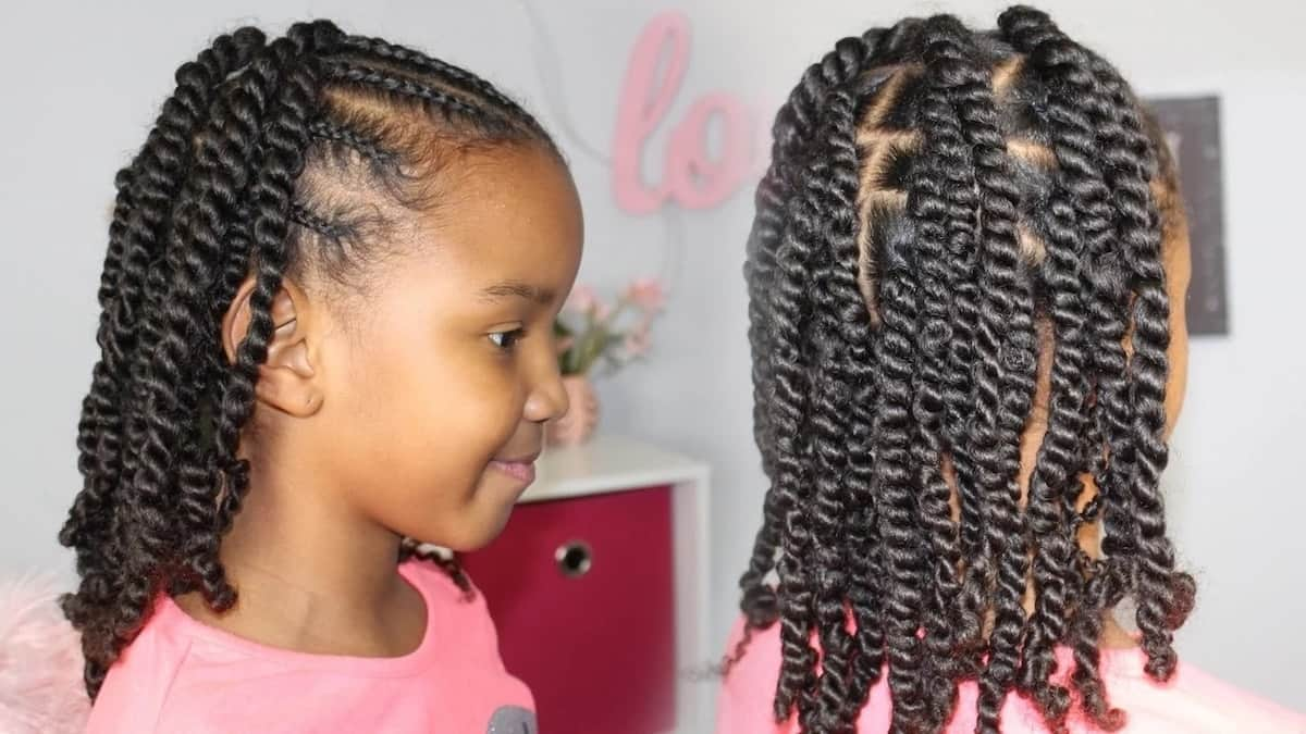 20 Cute African Cornrow Braid Hairstyles With An Updo Tuko