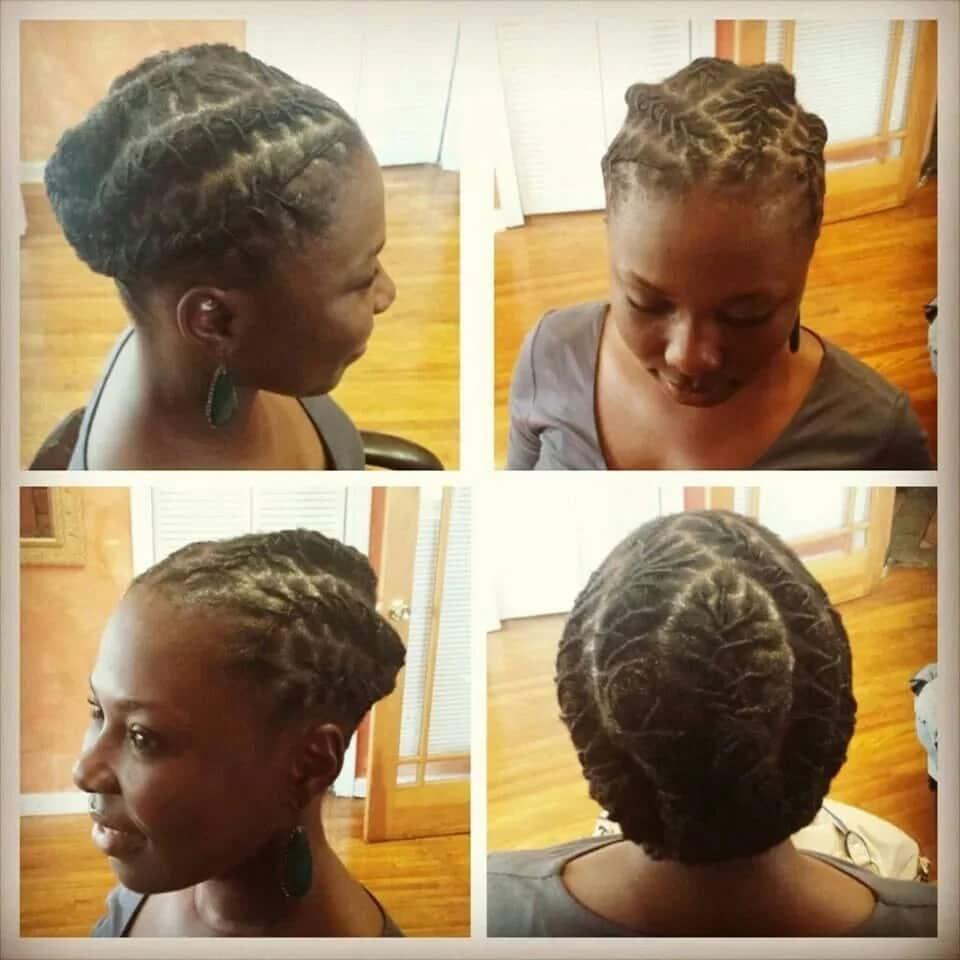 Short dreadlocks hairstyles for ladies
