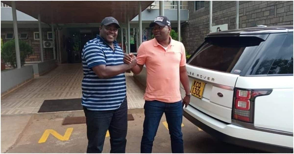 Cleophas Malala, Rashid Echesa bury the hatchet