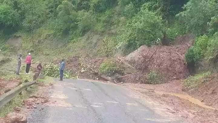 Heavy rains wreak havoc cutting off major roads after weatherman's warning