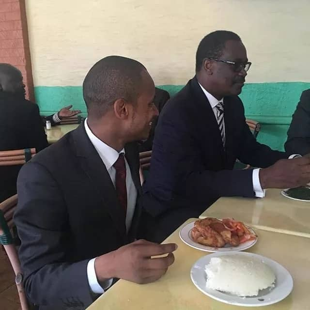 Kidero and 2027 presidential hopeful hit the streets to meet supporters