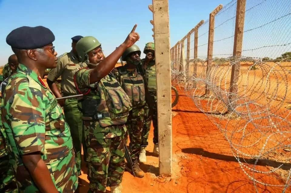 Is this the wall Kenya is building along its border with Somalia? (photos)