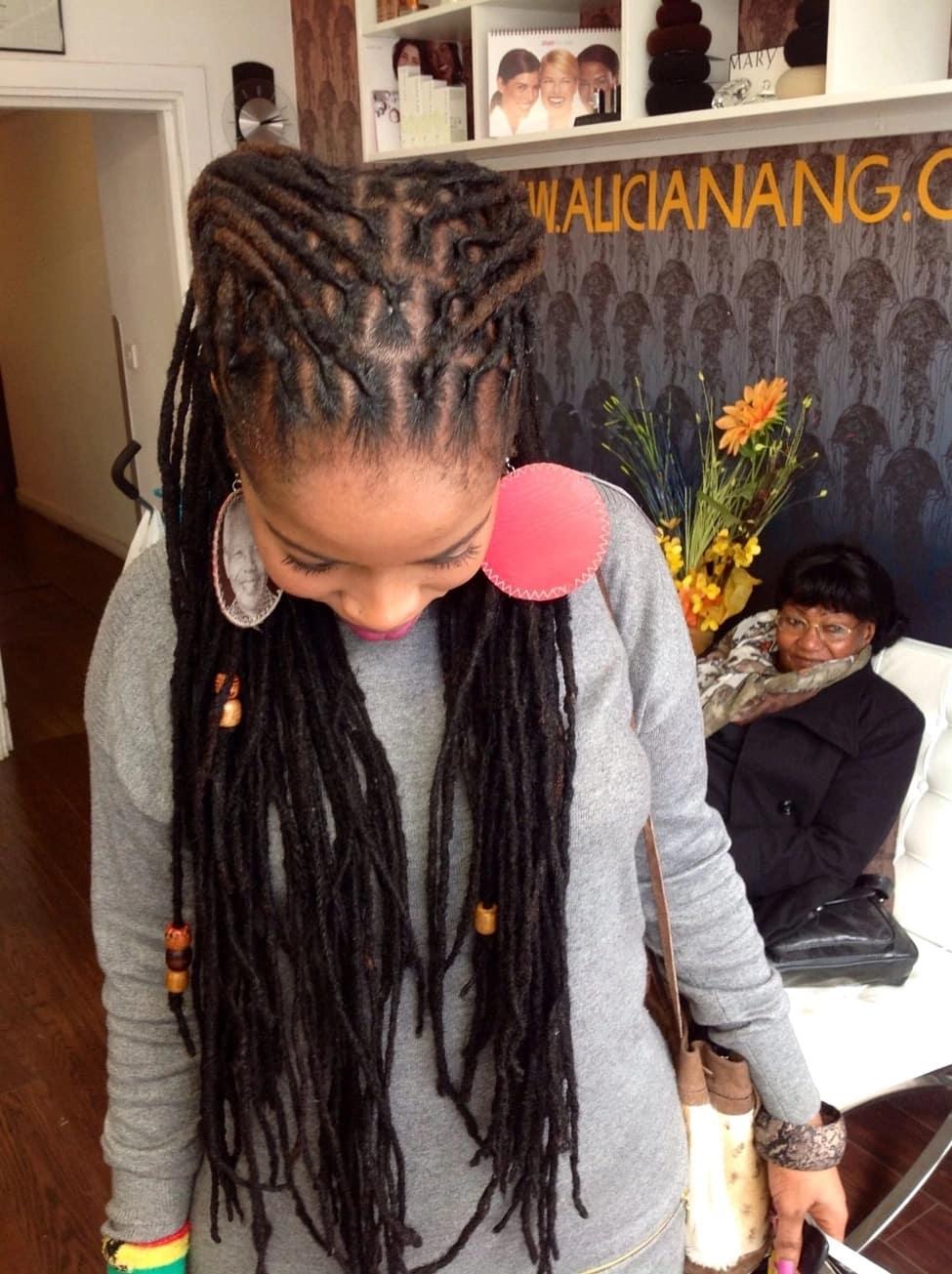 60 Dreadlock Hairstyles For Women 2019 Pictures Tuko Co Ke