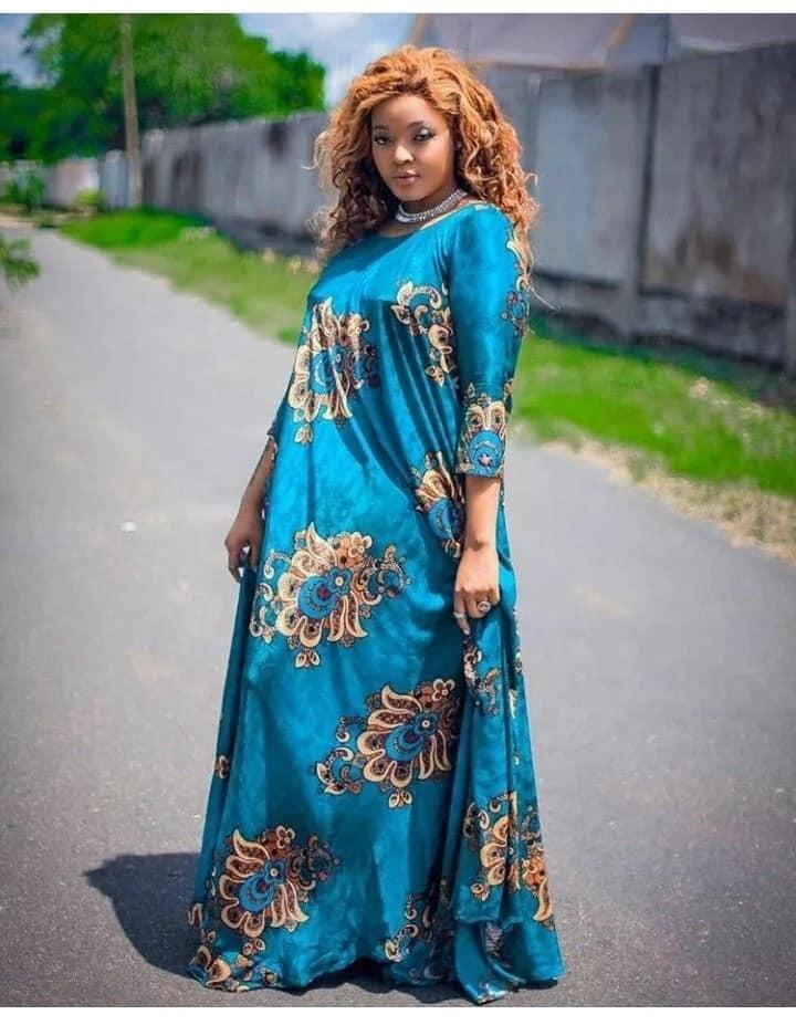 Latest kitenge long dress designs