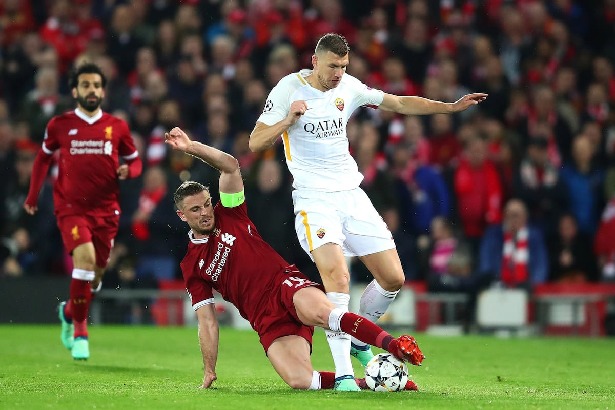 Roma face Liverpool in fight to reach Champions League final