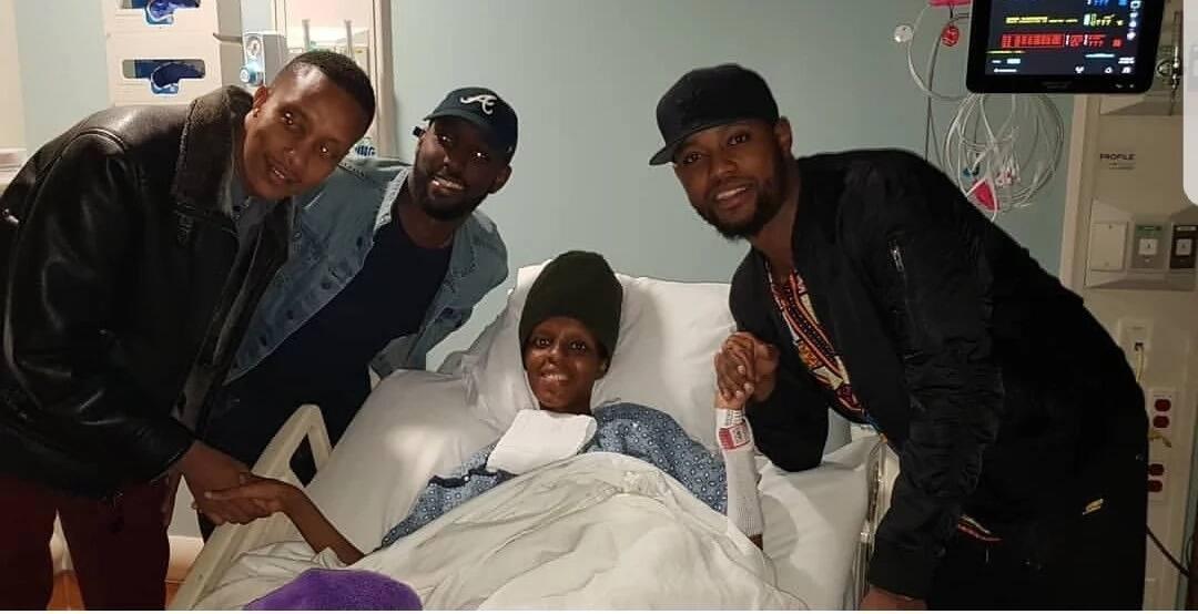 Njambi Koikai aliyelazwa hospitalini Atlanta atembelewa ghalfa na marafiki wake wa zamani