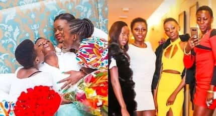 13 photos of Akothee and her three daughters which prove they have the best mother-daughter chemistry ever