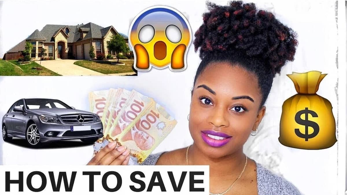 how to save money for a car or house in Kenya