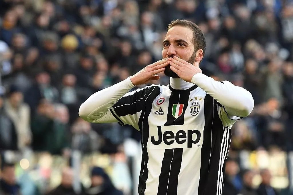 Chelsea plot KSh 11.8 billion deal for Juventus Gonzalo Higuain and Daniele Rugani