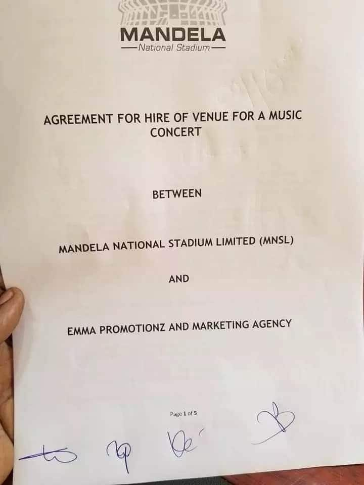 Bobi Wine's controversial concert to take place after organisers agree with stadium management