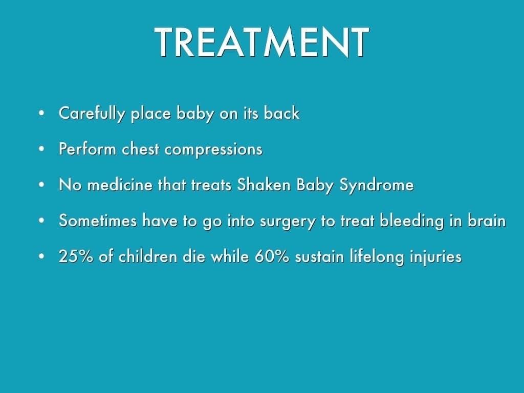 Shaken baby syndrome: causes, symptoms & remedies Shaken baby syndrome causes Signs and symptoms of shaken baby syndrome What causes shaken baby syndrome?