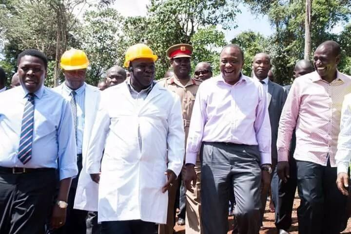 Uhuru's friend on the spot over bribery allegations