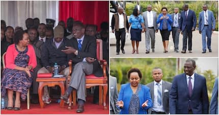 Ruto, Waiguru who fell out over NYS scandal, meet after polls ranked them most corrupt