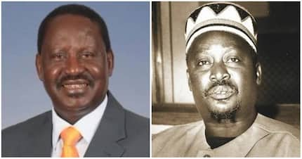 Raila pays tribute to his father and Kenya's father of opposition politics, 24 years after his death