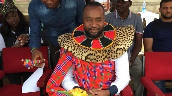 Hassan Joho crowned Pokot elder using women traditional regalia - KANU MP
