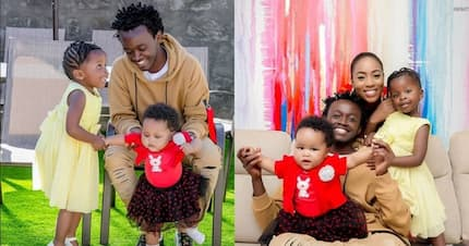 Gospel musician Bahati's daughter's meet each other for the first time and it's sweet
