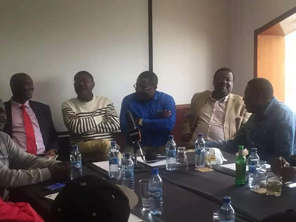 Bitter quarrels erupt in Western Kenya after Uhuru met only a few Luhya leaders on Mashujaa Day