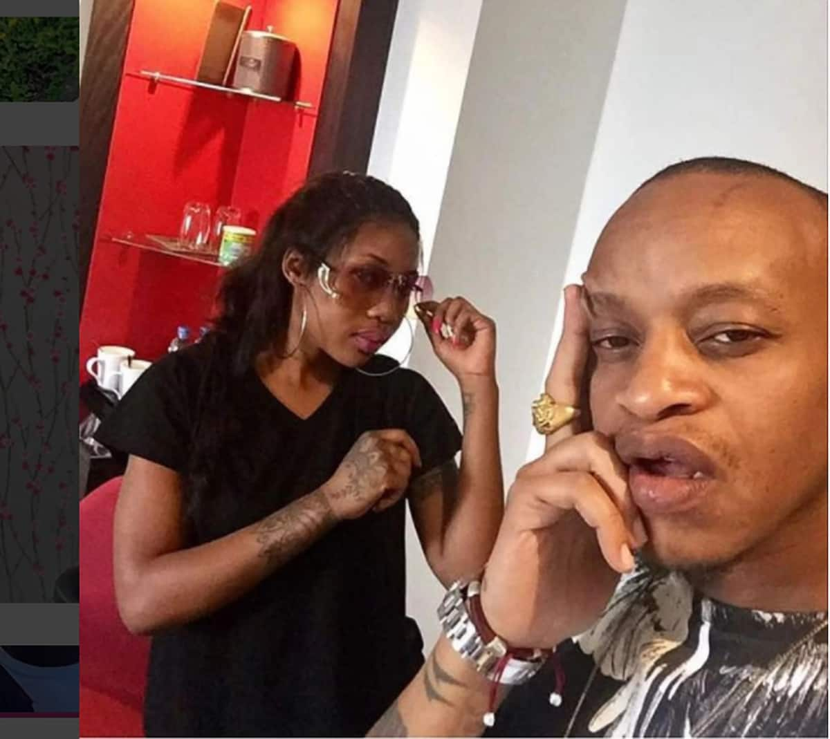 Prezzo's Tanzanian lover whom he was asked to use protection with lands deal with condom company