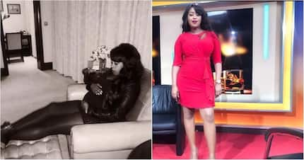 TV screen siren Lillian Muli schools pregnant women on how to lose extra baby fat after delivery