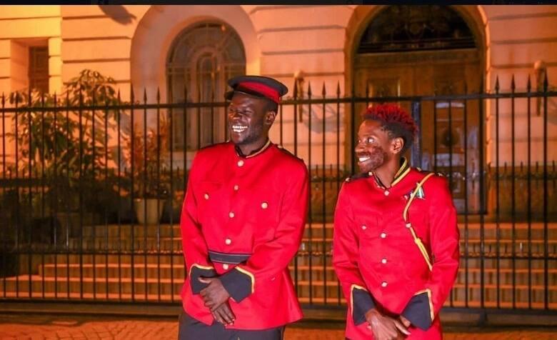 comedian eric omondi emulates royal wedding and its