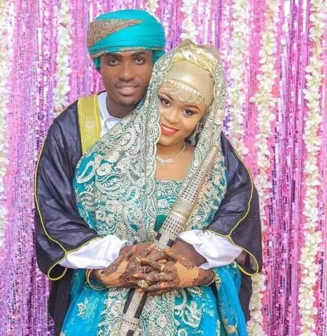 Ali Kiba sister wedding photos