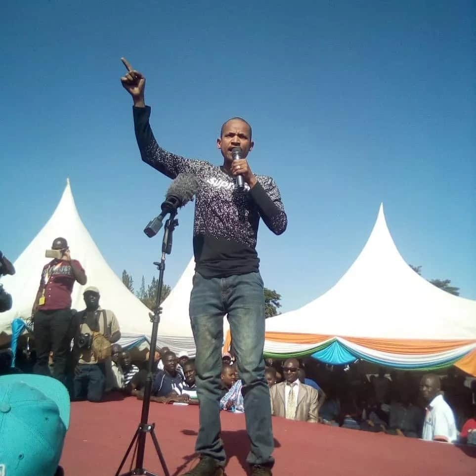 Babu Owino and nominated senator lock horns on social media and its fireworks