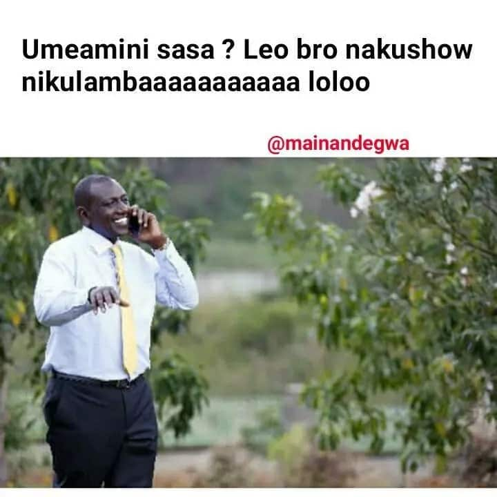 28 extremely hilarious memes of Ruto inviting Uhuru to a party