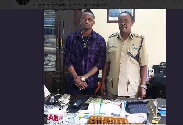 Diamond Platnumz arrested over raunchy video with mpango wa kando Hamisa Mobetto