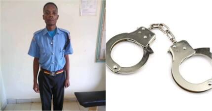 Man,22, terrorising Kisumu residents with stolen police uniform arrested