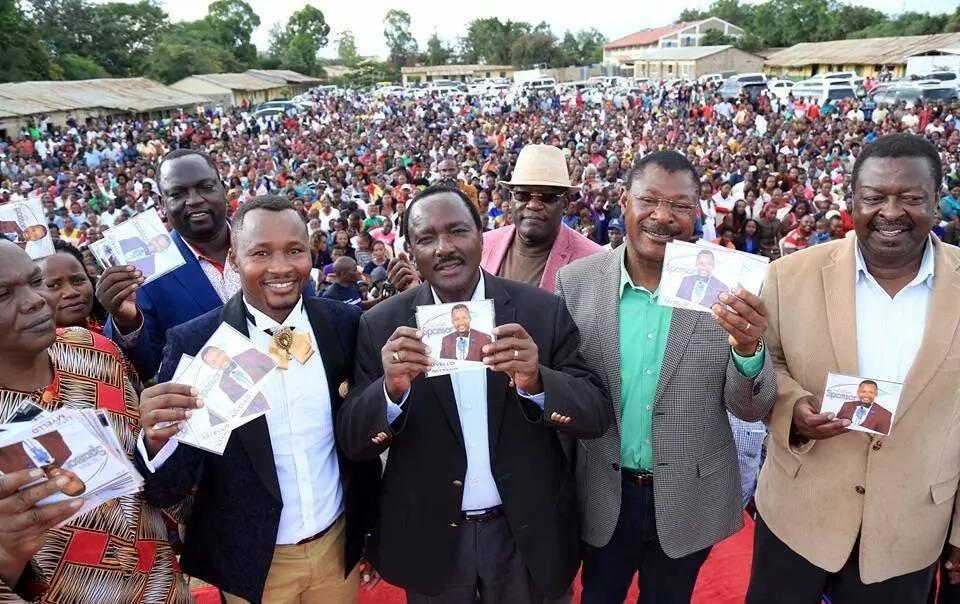 Mudavadi and Wetangula have begun seeing the light after resisting Raila-Uhuru handshake