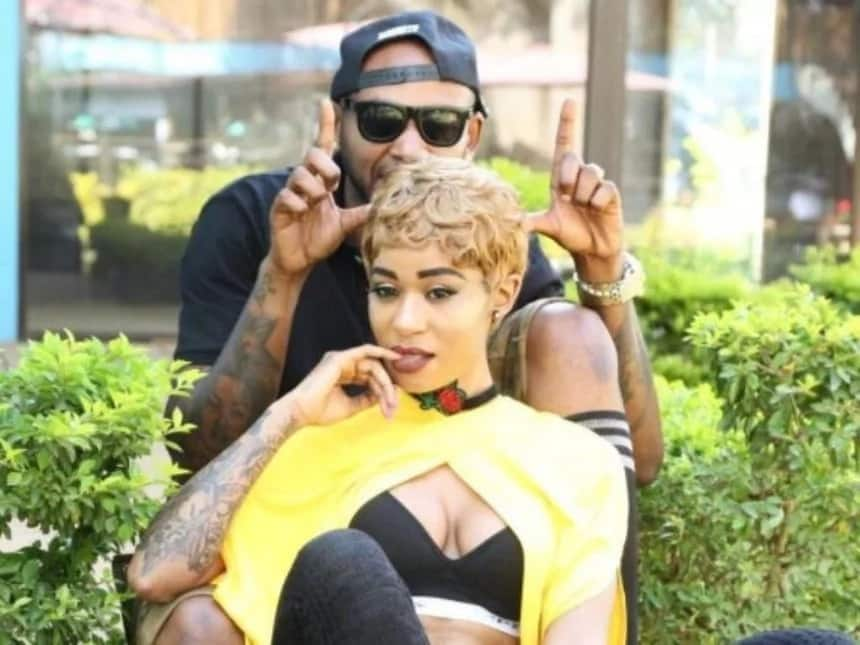 Bisexual Kenyan rapper Notiflow asks fans to help her choose whose bed between Prezzo's and Mustafa's she should warm